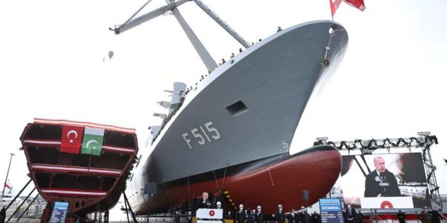 First I-class frigate of Turkey launched at Istanbul Shipyard