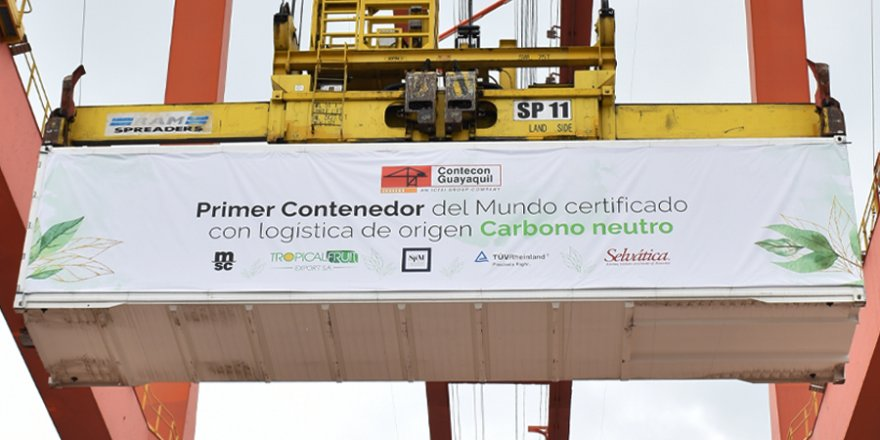 Ecuador handles world's first carbon neutral-certified container shipment
