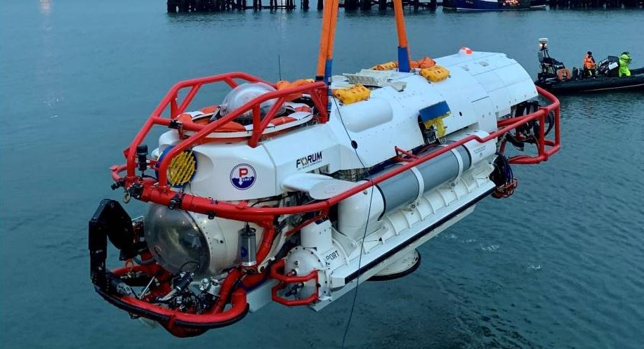 Forum Energy builds highly advanced submarine rescue vehicle