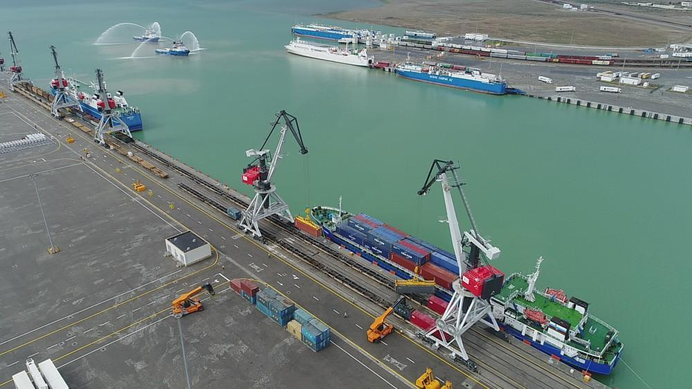 Baku Port cargo throughput experiences upward trend by 20 percent in 2020