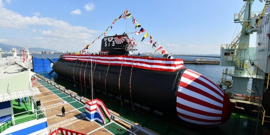 Japan unveils its new class of diesel-electric submarines
