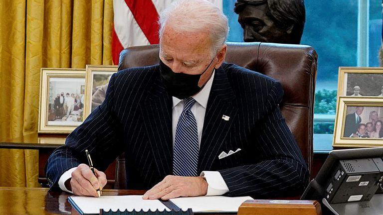 Biden unveils northern Bering Sea climate plan