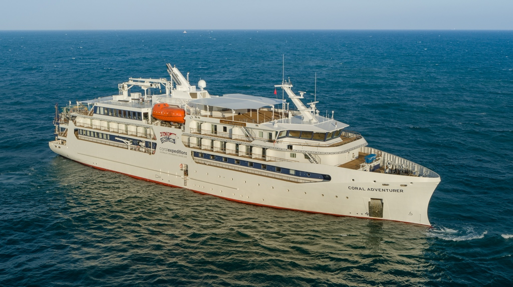 Coral Expeditions restarts voyage circumnavigating