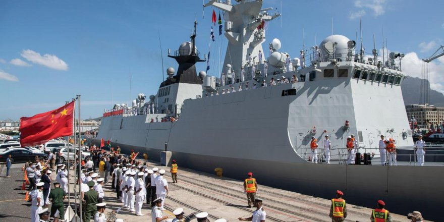 Chinese Navy hold drills to response deployment of US Navy in South China Sea