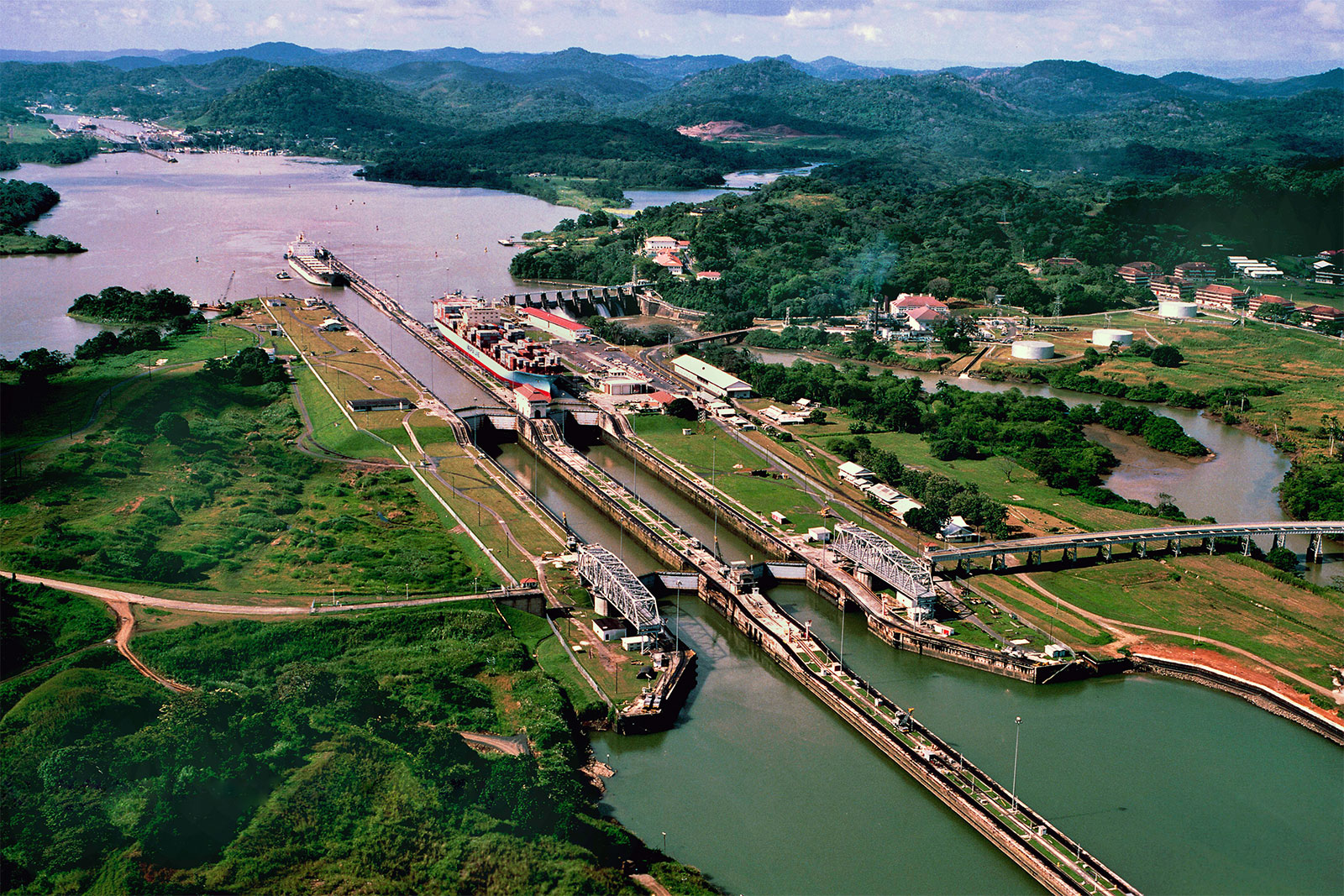Panama Canal announces reduction of more than 13 million tons of CO2 in 2020
