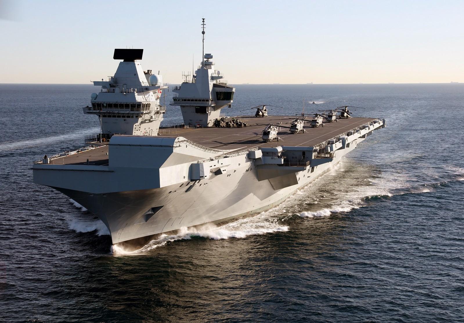HMS Queen Elizabeth becomes fleet flagship of Royal Navy