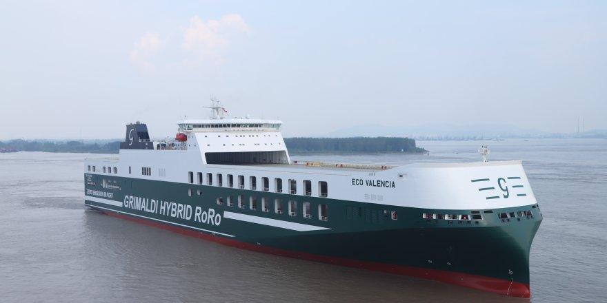 Grimaldi to receive third hybrid Ro-Ro vessel of its fleet
