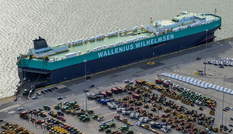 Wallenius Wilhelmsen Ocean received $18 million fine for cartel conduct