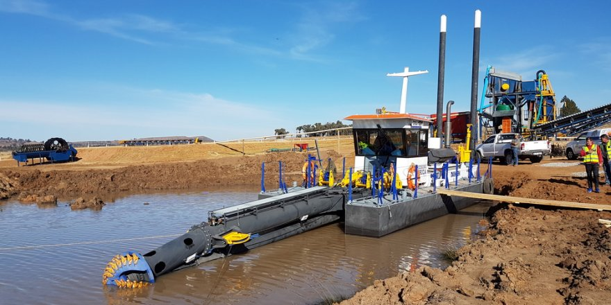 Damen delivers CSD 250 to Dredging Africa for inland dredging project
