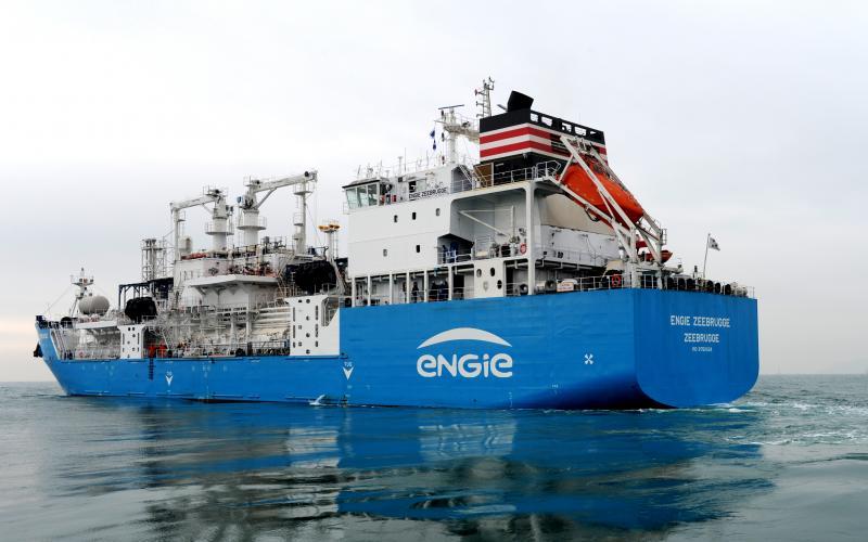 Titan LNG charters Green Zeebrugge from Japan's Nippon Yusen Kaisha