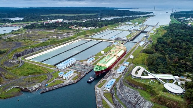 Panama Canal hits new record for LNG transit