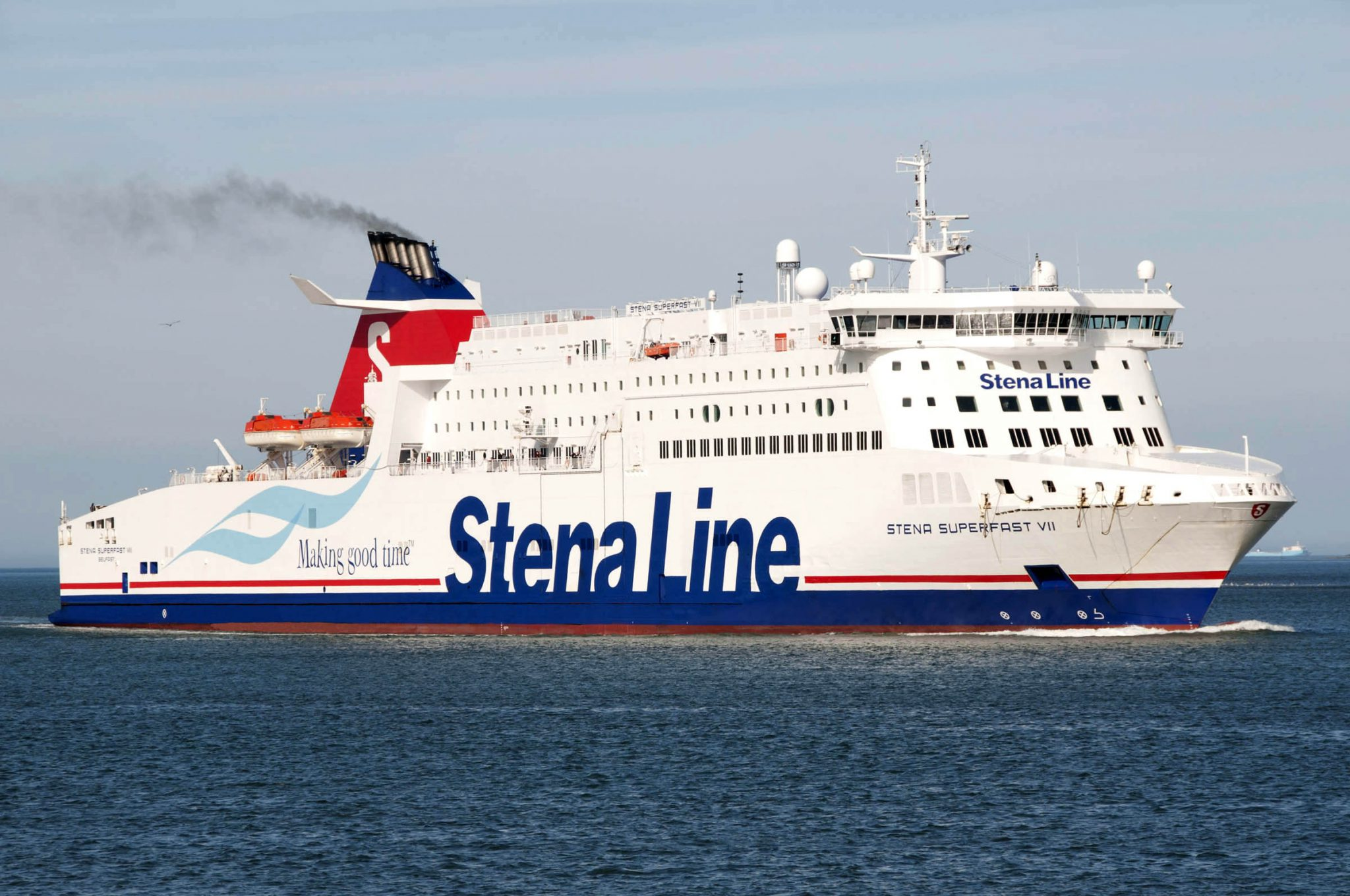 Stena Line plans to operate two fossil-free battery-powered vessels by 2025