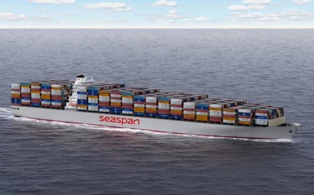 Seaspan Corporation orders two 24,000 TEU boxships