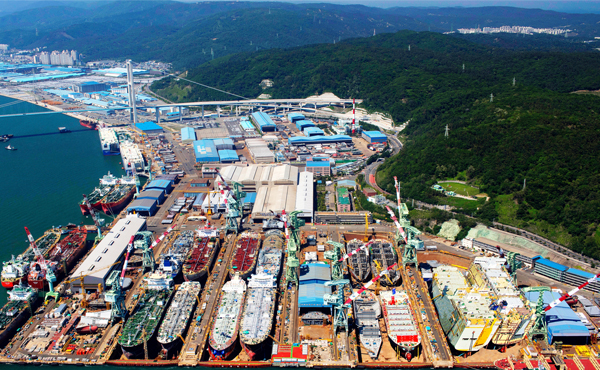 Hyundai Mipo receives orders for two LPG carriers and one petrochemical vessel