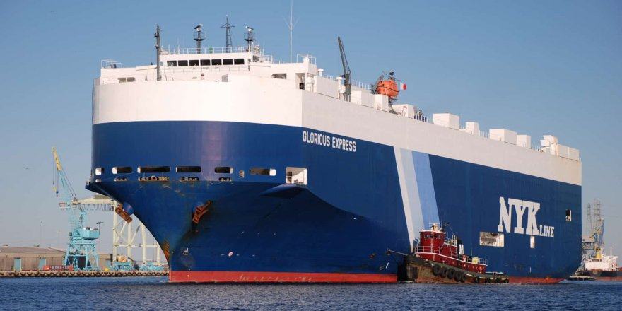 NYK signs contract for four LNG-fueled PCTCs with China Merchants