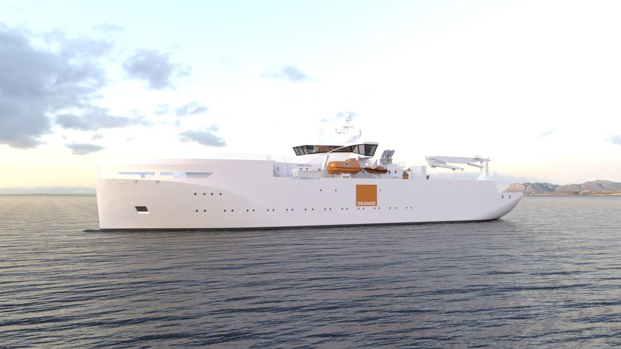 Norway-based Vard designs for French cable ship