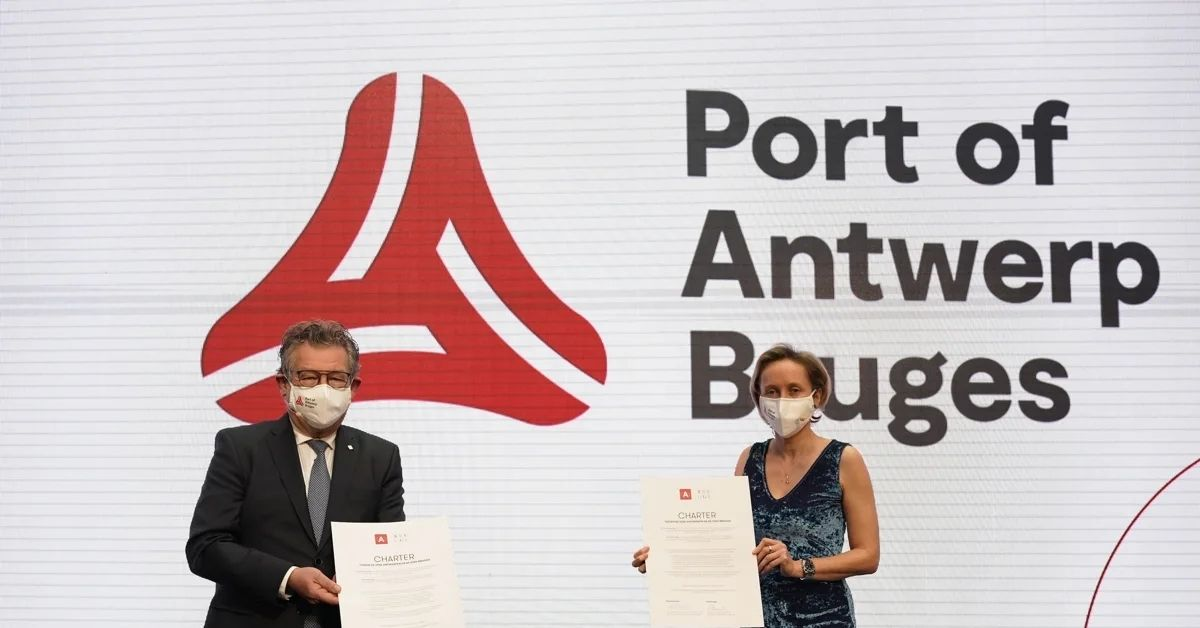 Ports of Antwerp and Zeebrugge come together to merge their respective ports