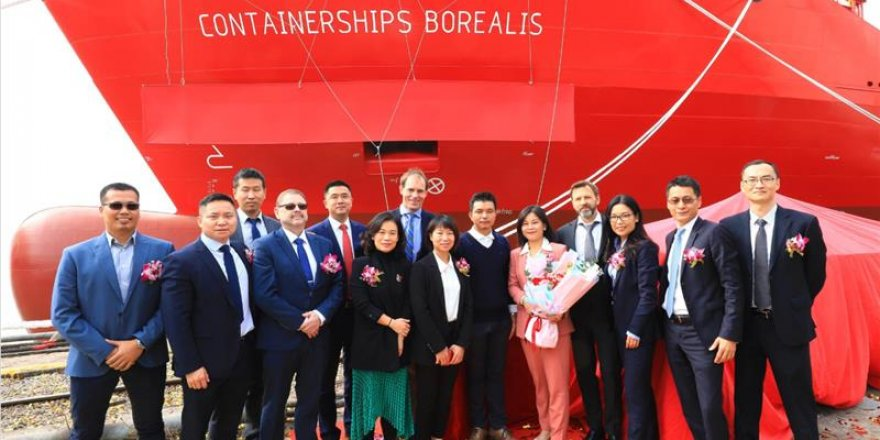 CMA CGM receives its fifth new containership powered by LNG