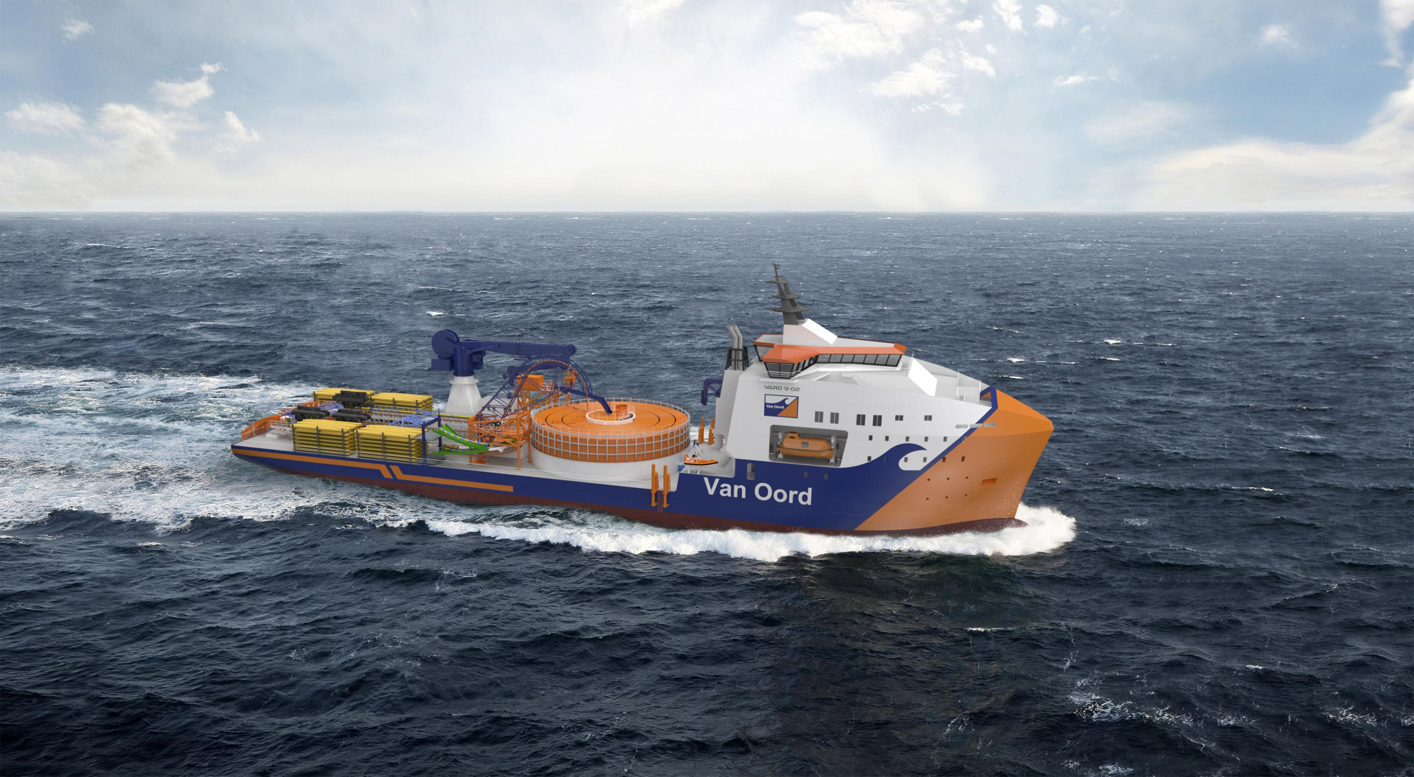 Norway's Brunvoll secures contract for Van Oord's green cable layer