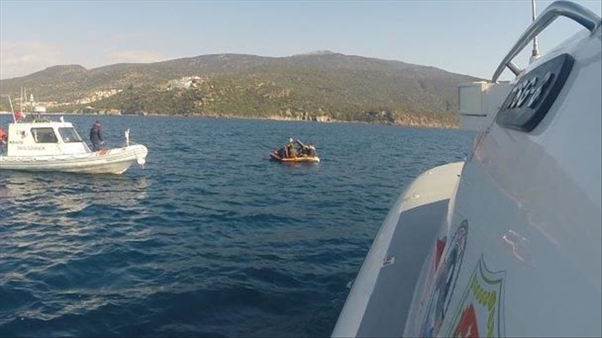 Turkish Coast Guard rescues 98 irregular migrants in Aegean Sea