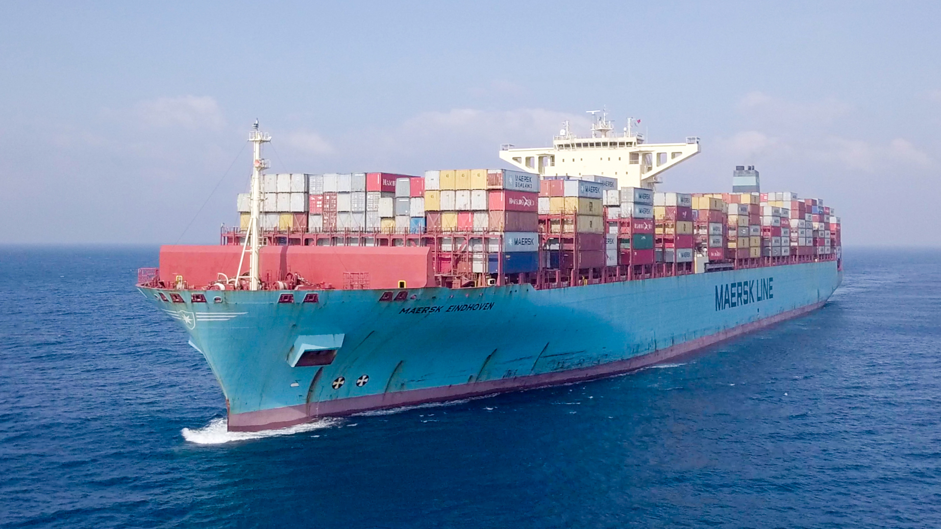 Maersk Eindhoven waits for clearance by Japanese authorities