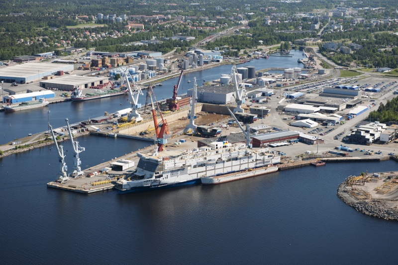 Rauma Marine Constructions of Finland restarts production