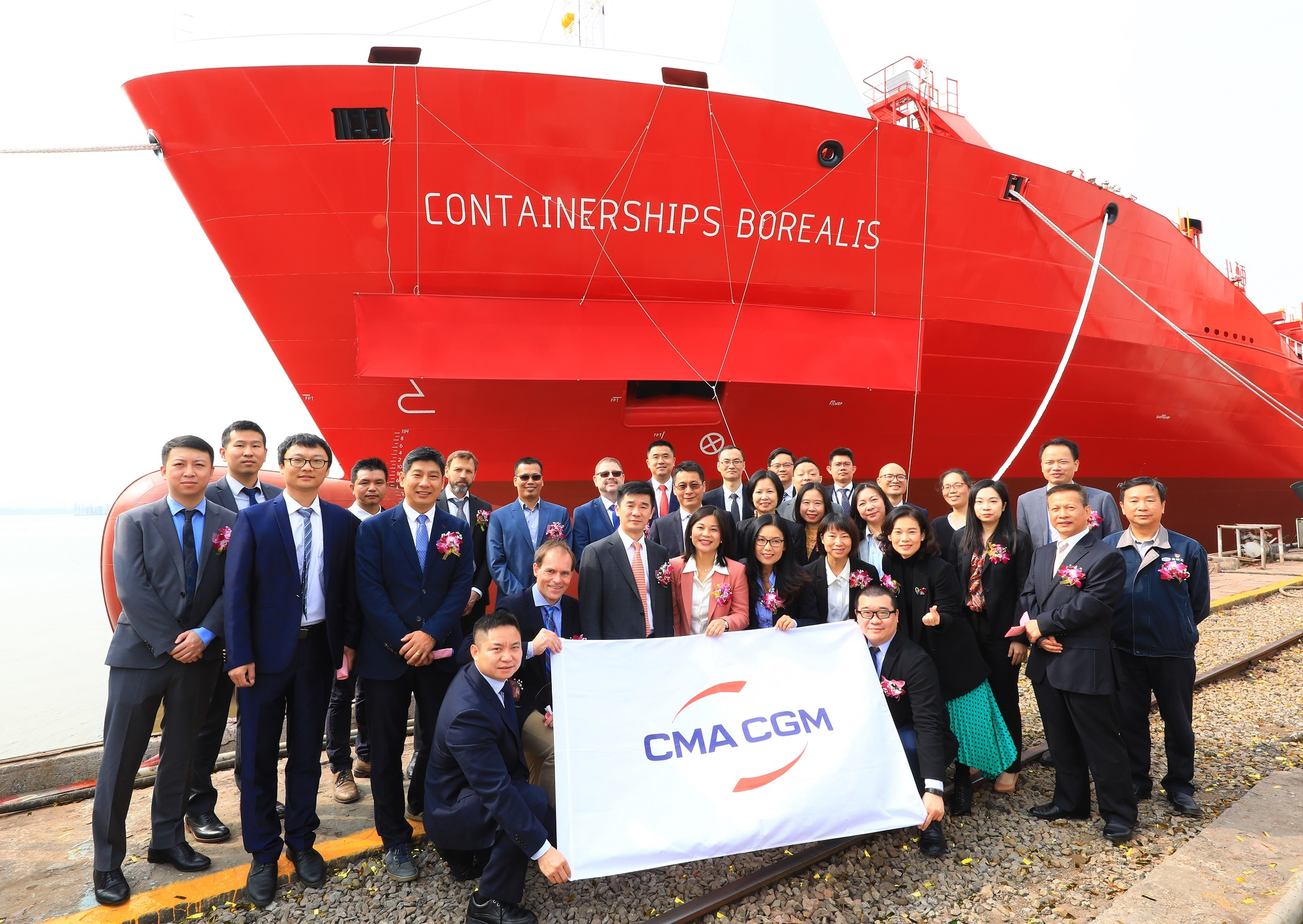 Newest LNG-powered vessel of CMA CGM completes maiden voyage