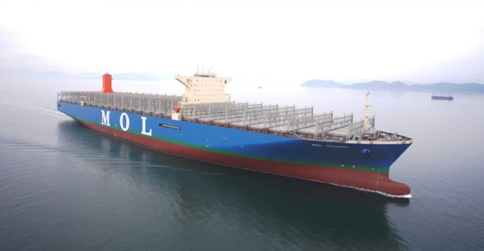 Mitsui O.S.K. Lines agrees to share the data of about 180 MOL ships