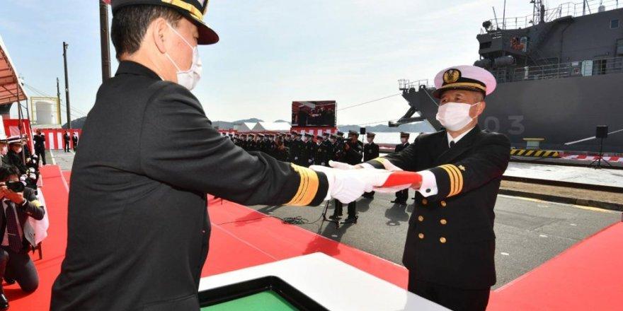 Mitsui delivers  Japan Navy's newest ocean surveillance ship