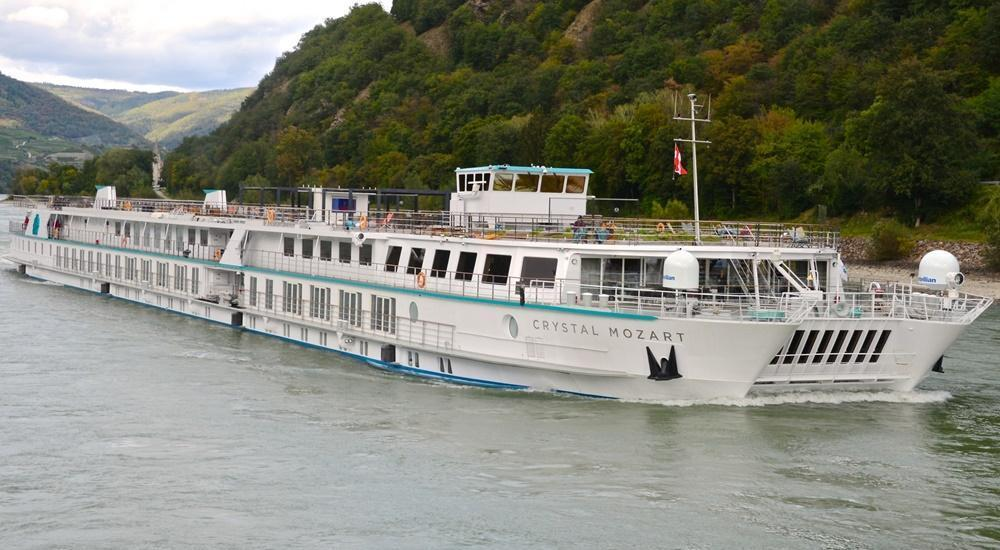 Crystal Mozart starts European River Cruises in 2022