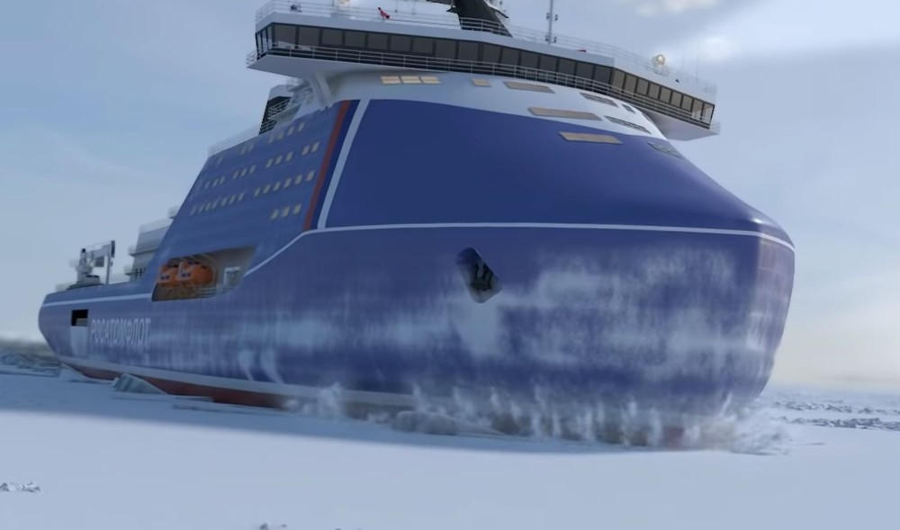 Russia aims to get 8 nuclear-powered icebreakers by 2030