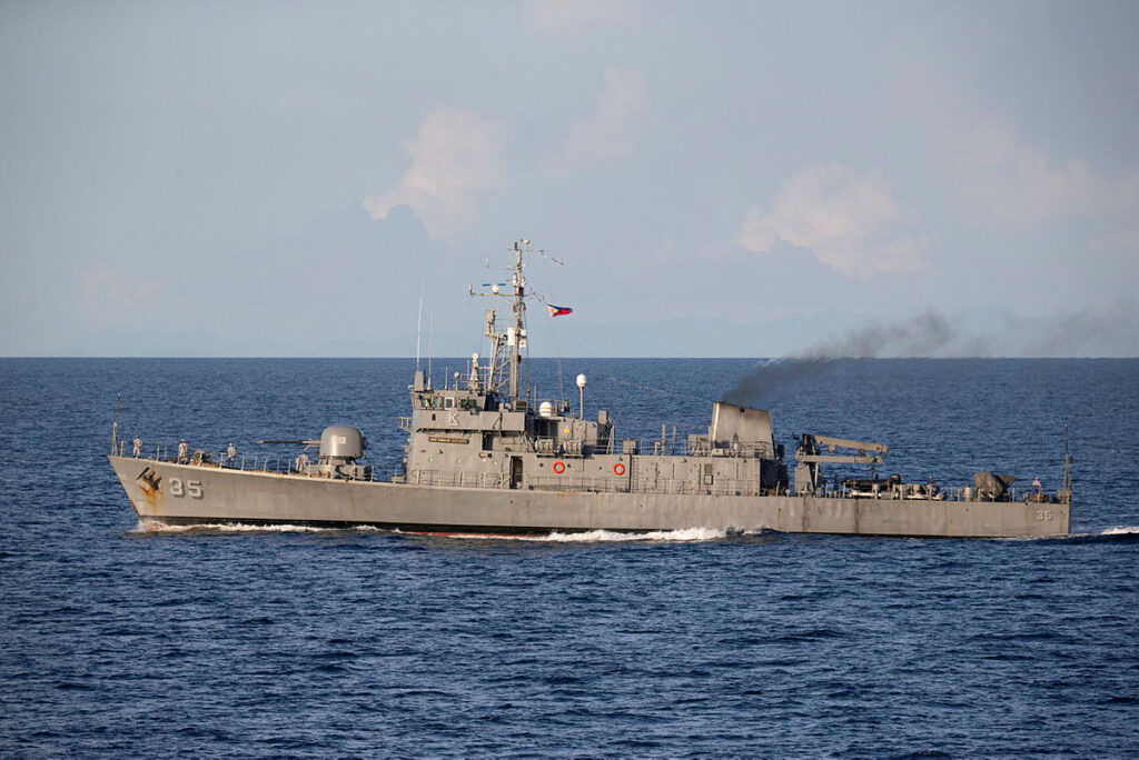 Australian Navy conducts naval exercise with Philippine Navy