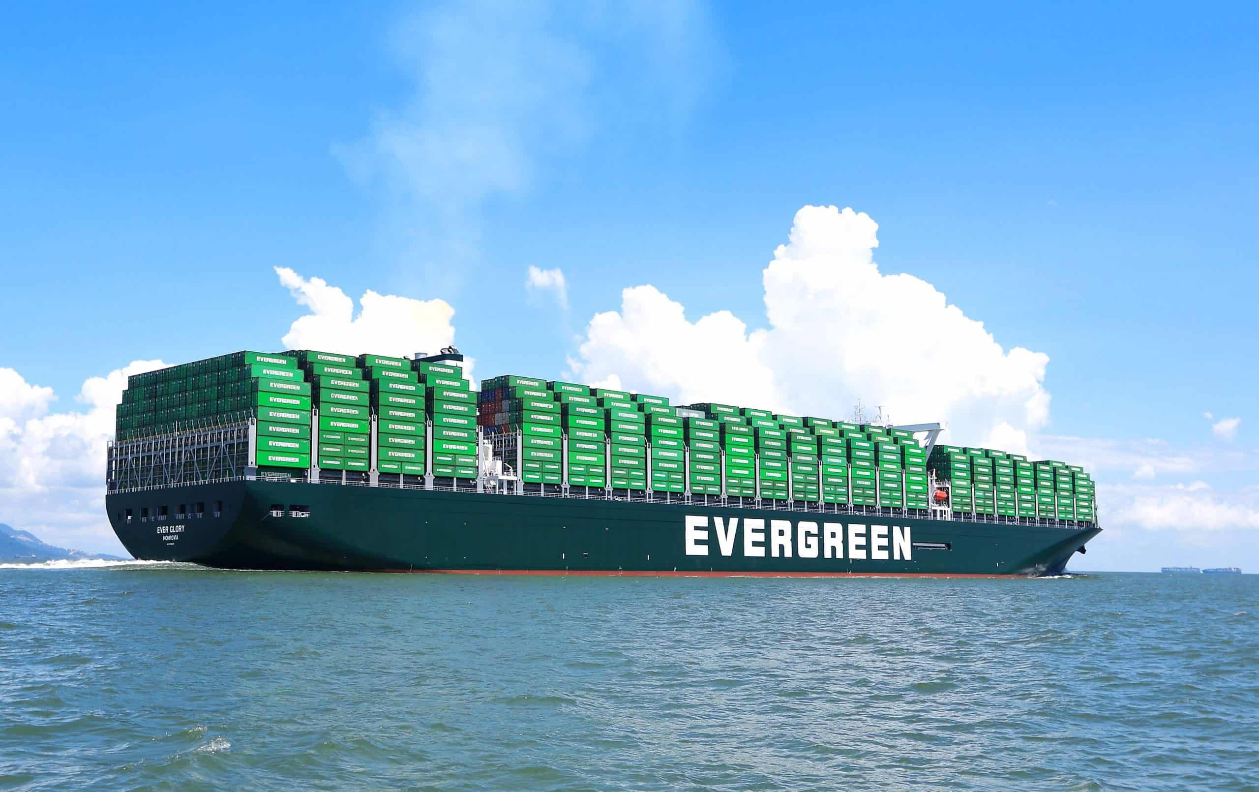 Taiwanese liner Evergreen plans to build 20 boxships