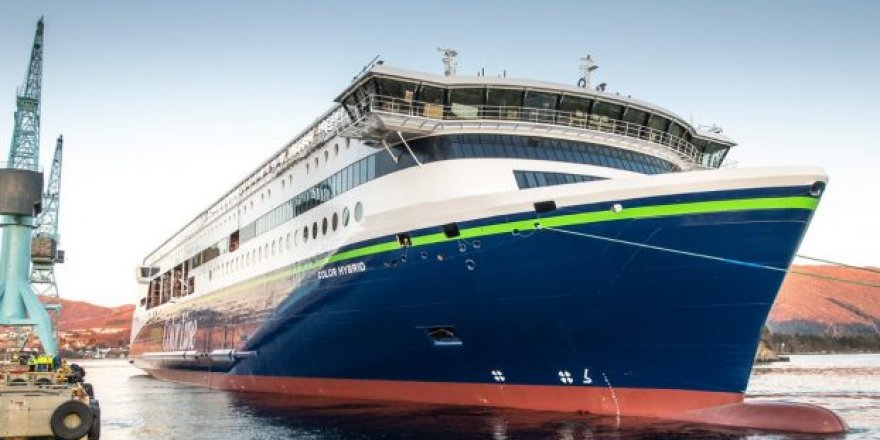 Norwegian shipbuilder Ulstein has launched the world's largest plug-in hybrid ship
