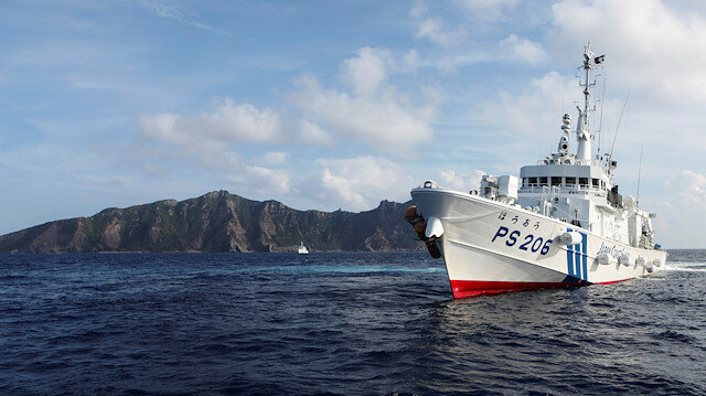 Chinese ships enter Japan's territorial waters off Senkaku Islands