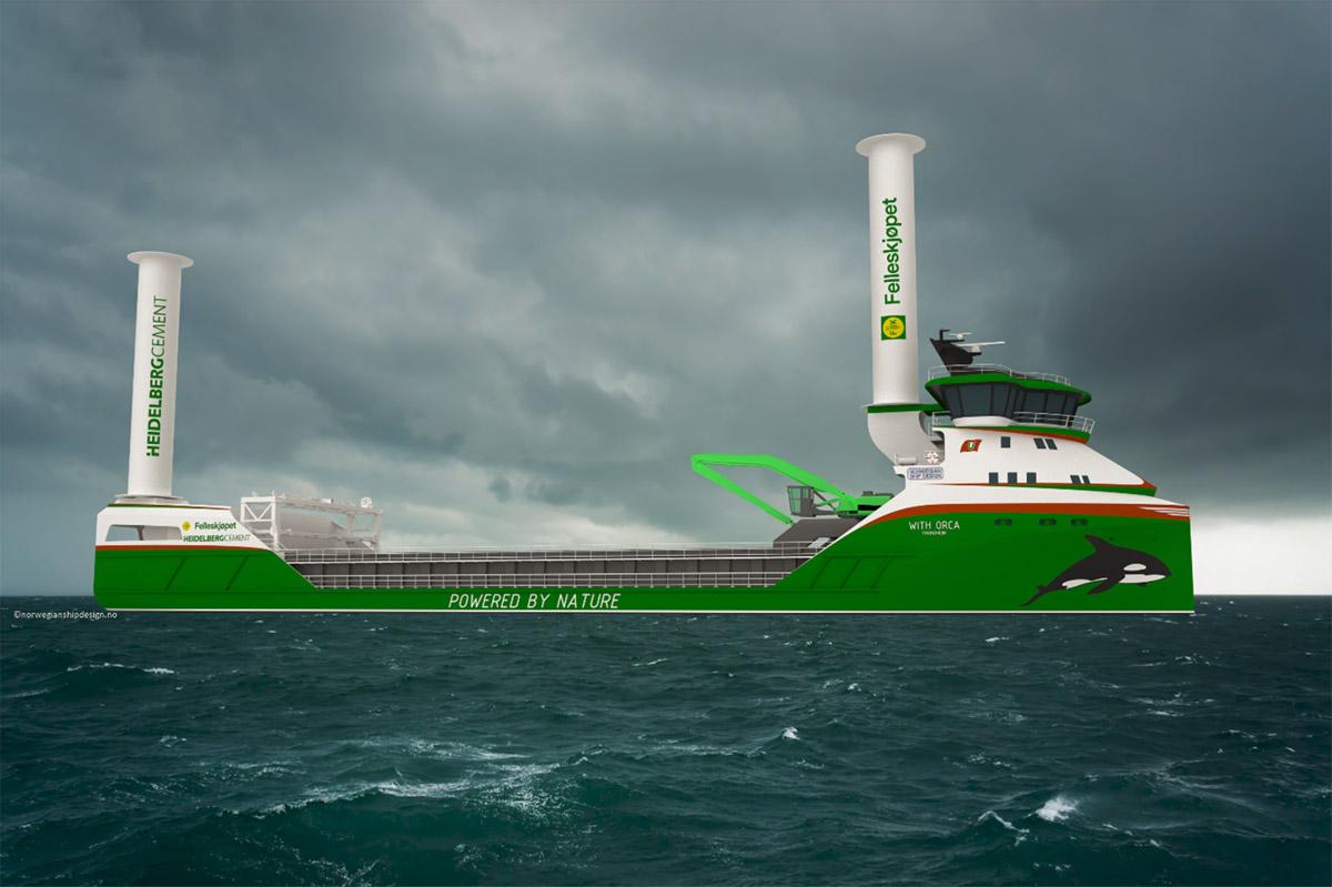Egil Ulvan Rederi to build zero-emission self-unloading bulker