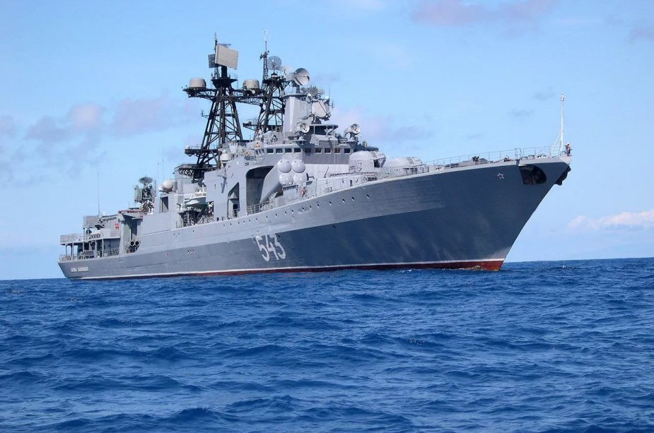 Russia to convert anti-submarine warship into frigate by 2025