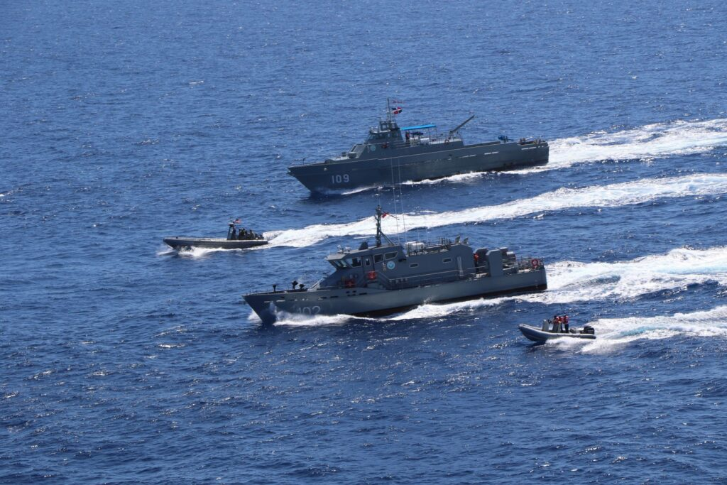 US Navy conducts bi-lateral exercise with Dominican Republic