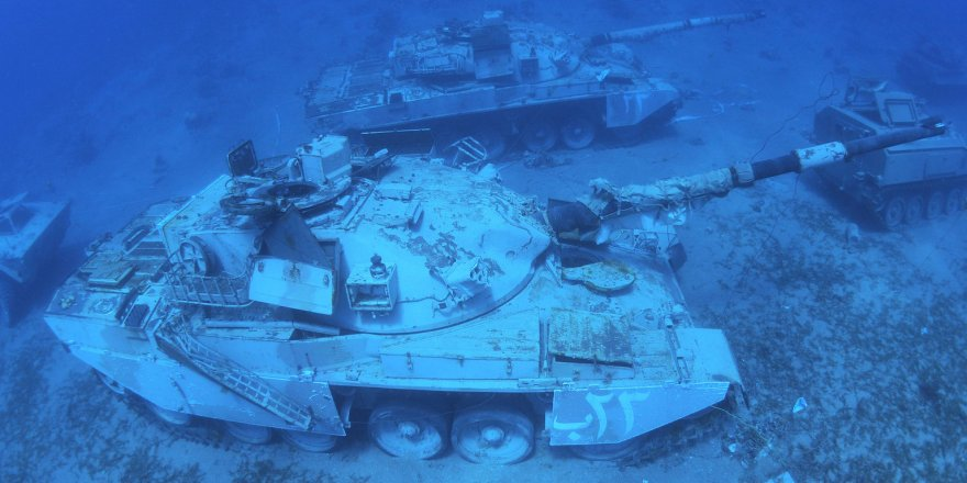 Jordan's first underwater military museum on the Red Sea coast