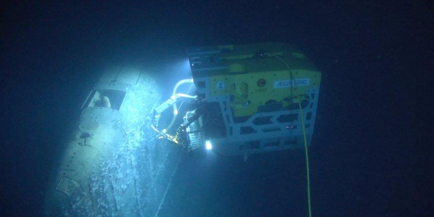 A Sunken Soviet Submarine leaking radiation