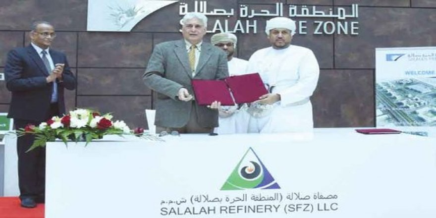 Agreement signed for Salalah Refinery Project