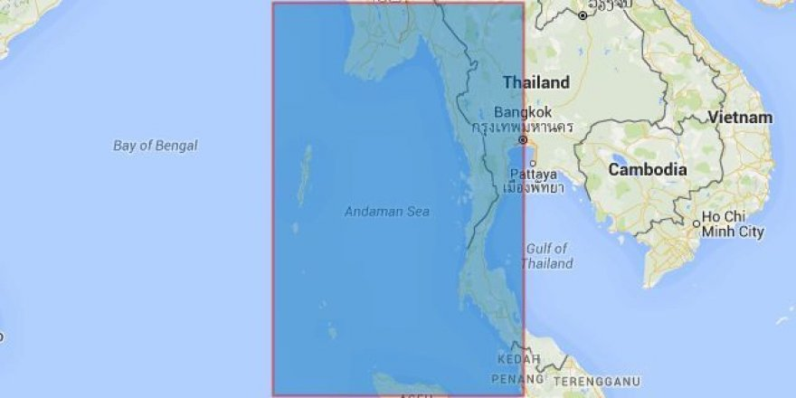 17 containers got lost in Andaman Sea