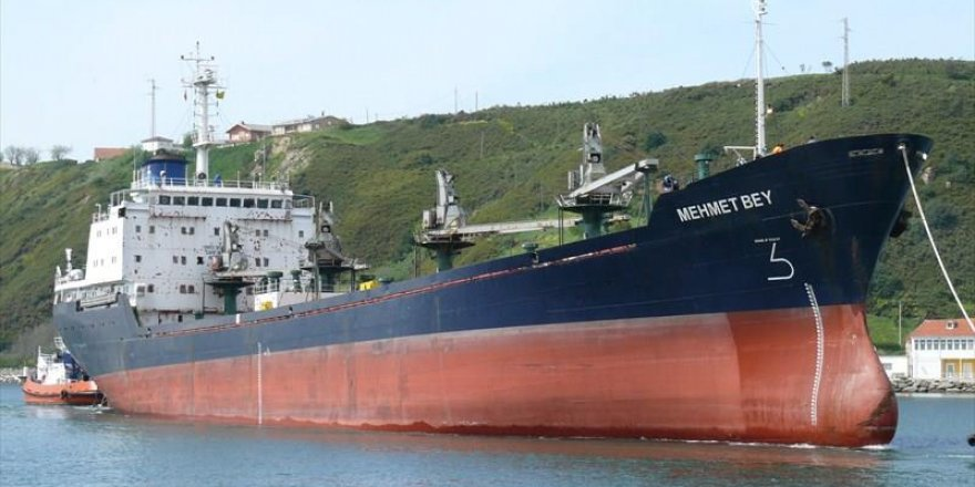 General cargo ship MEHMET BEY take ground again
