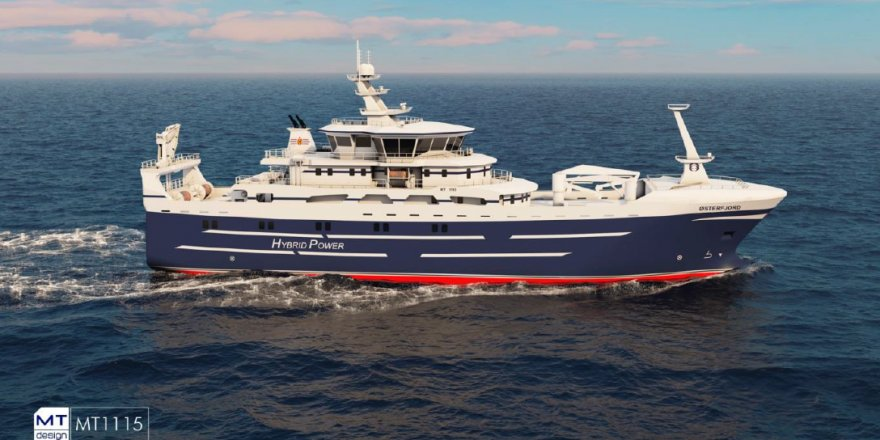 Tersan Shipyard has signed a contract with Østerfjord AS
