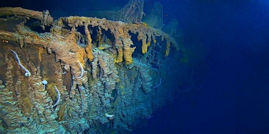 Titanic wreck has been revealed after 14 years