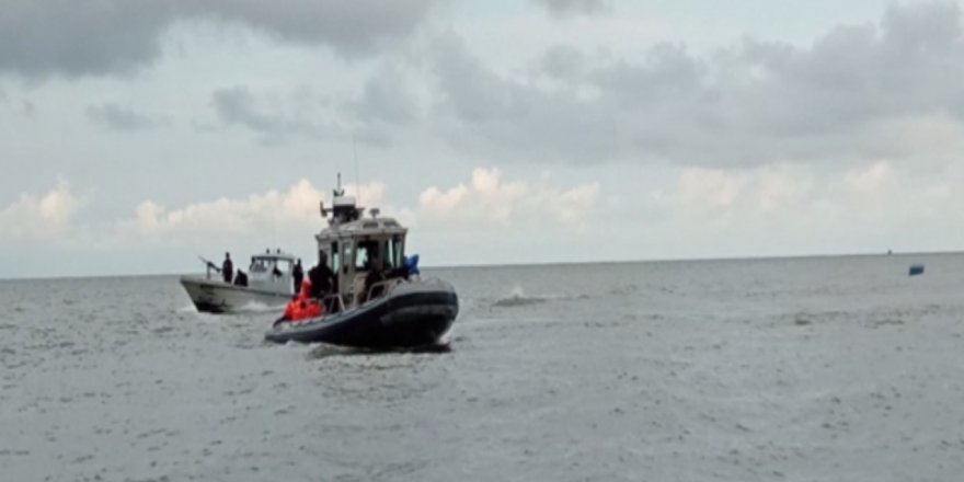 A ferry carrying about 200 people capsized, Gulf of Guinea