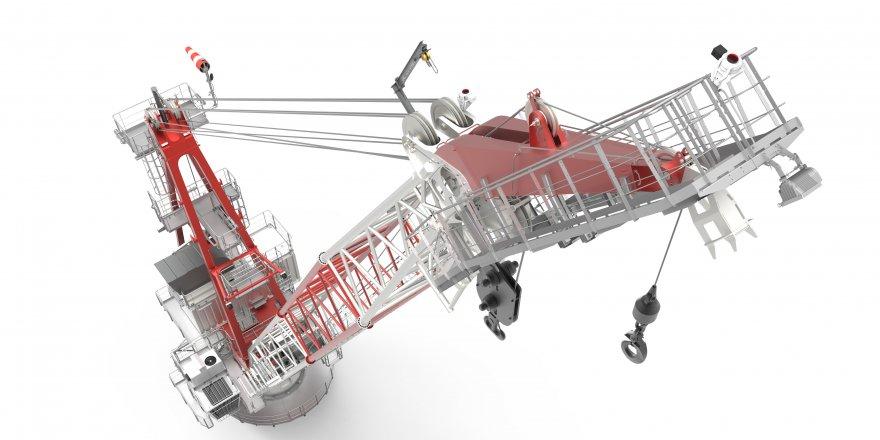 CIMC Raffles Yantai ordered Liebherr Board Offshore Crane