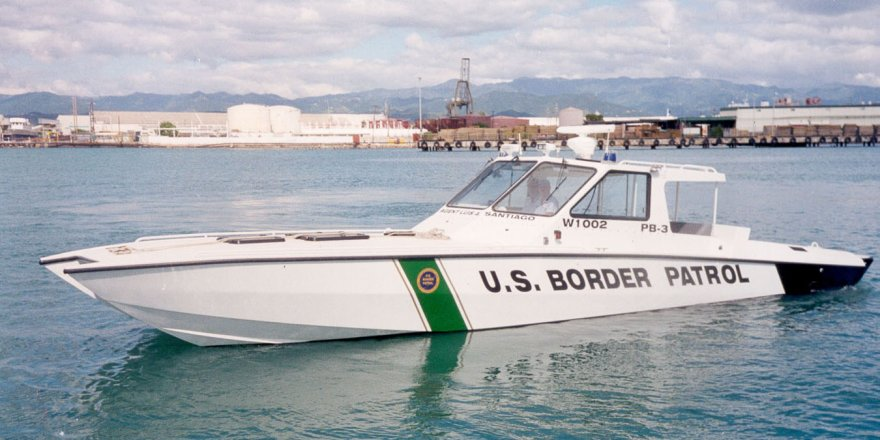 Patrol boat was fired upon by cartel members to protect hidden underwater drug pulley