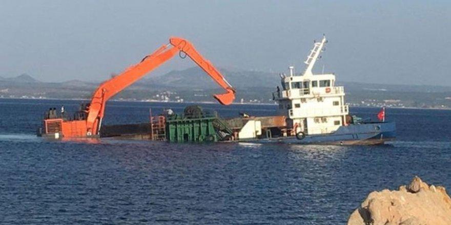 Danger of sinking in Aegean Sea