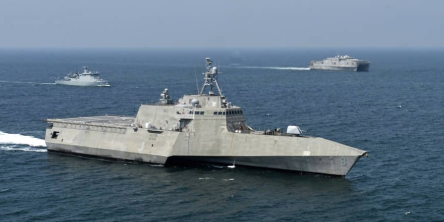 U.S. and 10 Southeast Asian nations setting naval exercises